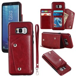 $enCountryForm.capitalKeyWord NZ - For iphone x 8 7 6 Handmade Genuine Leather Wallet Phone Case Book Design Card Slot for Samsung Oppo Back Cover Fully Open for Business Man