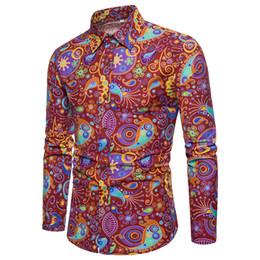 $enCountryForm.capitalKeyWord Australia - Low Price Men's Long Sleeve Floral Shirts Large Size S-5XL