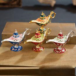 fairy photography props 2019 - Classic Fairy Tale Aladdins Magic Lamp Tea Pot European Style Photography Prop Home Decoration cheap fairy photography p
