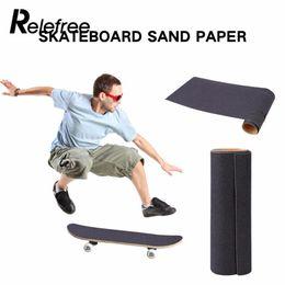 Discount skateboard decks - Relefree 2017Hot Activing Starke Skateboard Deck Sandpaper Griptape 84*23cm Aufkleber Anti Slip Rauem