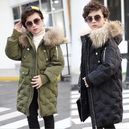 russian parka 2019 - winter jackets kids snow wear boy warm coats for teenage girl down parkas fur hood outwear teens children clothing russi