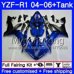 $enCountryForm.capitalKeyWord Australia - Body+Tank Glossy blue top For YAMAHA YZF R 1 YZF-1000 YZF 1000 YZFR1 04 05 06 232HM.17 YZF1000 YZF-R1 04 06 YZF R1 2004 2005 2006 Fairing