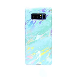 $enCountryForm.capitalKeyWord UK - China Mail 2018 Best Selling Coloured Drawing Pattern High Quality Shockproof Holographic Marble Texture Back Cover Phone Case For Samsung