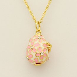 Faberge egg pendant nz buy new faberge egg pendant online from fit european luxury brands necklace red enamel flowers faberge egg pendant necklace easter gifts nz3061 negle Images