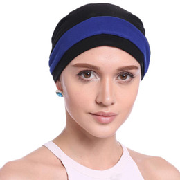 lady head flowers 2019 - Women Hat 2018 New Ladies Flower head Scarf Chemo Hats Turban Beanies Headwear Bandana Headscarf Cancer Loss hair Beanie