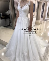 $enCountryForm.capitalKeyWord Australia - Plus Size Vintage Lace Country Wedding Dresses 20198 A Line Jewel Sequined Beaded Cheap Bohemian Greek Style Beach Wedding Bridal Gowns