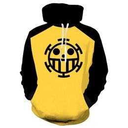 One piece trafalgar law hOOdie online shopping - Anime One Piece D Hoodie Sweatshirts Trafalgar Law Cosplay Pirates Of Heart Thin Pullover Hoodies Tops Outerwear Coat Outfit