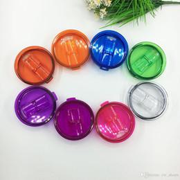 Am billigsten!!! farbig geschoben Deckel für 30 Unzen Tasse 20ounce Becher spritzwassergeschützte Strohkappe mit Slider Closure im Angebot