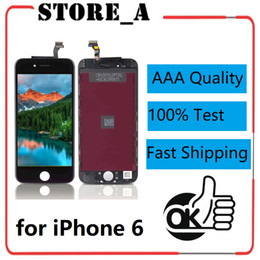 $enCountryForm.capitalKeyWord Australia - High Quality for iPhone 6 LCD Display Touch Screen Digitizer Full Assembly Replacement 100% Test No Dead Pixls