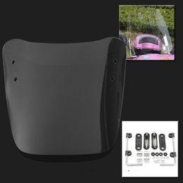$enCountryForm.capitalKeyWord Australia - Autoleader 1Pcs Transparent PC Glass Motorcycle Windscreens Wind Deflectors Scratch Resistant Scooter Windshield 37.5cm x 39cm