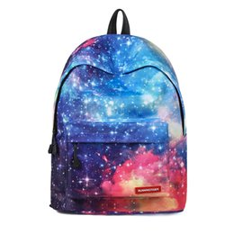 aaad5bbbbc1 2018 Mini Teenager Girls School Bag Backpack Women Anti Theft Bagpack 13 14  Inch Laptop Computer Starry Sky Travel Back Pack Bag