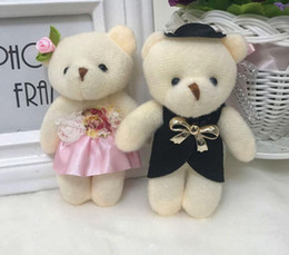 $enCountryForm.capitalKeyWord Australia - Teddy Bear Plush Toys the Most Popular Cartoon Animals Doll couple wedding cub cartoon bouquet teddy bear doll Mini Plush Furnishing Article