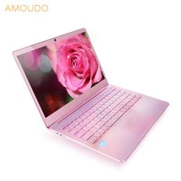 $enCountryForm.capitalKeyWord NZ - 14inch 1920*1080P FHD IPS Screen 6GB Ram 256GB SSD Intel Apollo Lake CPU Pink Color Ultrathin All Metal Laptop Notebook Computer