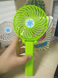 $enCountryForm.capitalKeyWord Australia - Handy Usb Fan Foldable Handle Mini Charging Electric Fans Snowflake Handheld Portable For Baby Girls on Bus or Outdoor Summer.