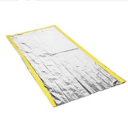 $enCountryForm.capitalKeyWord Australia - Outdoor emergency sleeping bag, radiation insulation and life saving sleeping bag PET silver AT9039