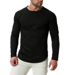 $enCountryForm.capitalKeyWord Canada - Europe US Size New Autumn Round Neck Men's T-Shirts Casual Anti-Sweat Long Sleeve TShirts Black Tops Tees Male tshirt homme