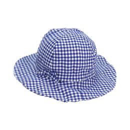 Child Bucket Hat Wide Brim Cotton Unisex Fisherman Cap Outdoor MZ6050  Spring Plaid Beach Hat Boys Girls Kids Summer Child Cap Hat b615af5a6feb