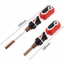Бесплатная доставка 1PC отвертка регулируемый насадок телескопические отвертки магнитные плоскогубцы ремонт ручной инструмент на Распродаже