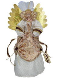 "$enCountryForm.capitalKeyWord Canada - Cosette Fiber Christmas Angel Tree Topper for Home Decoration Ornaments14"" ( without battery)"