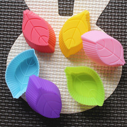 silicone mold cake leaf NZ - Leaf Shaped Silicone Cake Mold Cake Decoration Fondant Chocolate Cake Mold Food Grade Silicone Mold fast shipping F20173228