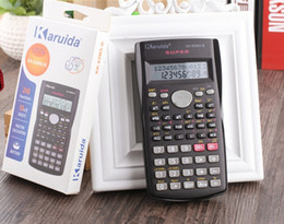 Handheld Student Scientific Calculator 2 Line Display 82MS Portable Multifunctional Calculator for Mathematics Teaching on Sale