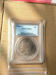$enCountryForm.capitalKeyWord NZ - Wholesale Hot Selling PCGS 1890-CC MS62  MS63   1891-CC MS63 1895-S VF20  1896-O MS61  1897-O MS62 One Dollar Morgan Coin  FREE SHIPPING