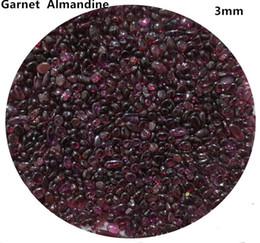 200 г 3 мм натуральный красный альмандин гранат драгоценные камни камень Кристалл чипсы гравий кварцевый Аквариум Аквариум C10