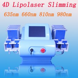 Laser 635nm online shopping - 635nm nm nm nm diode lipolaser lipo laser slimming machine lipolaser fat burning weight loss equipment mw