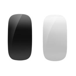 magic desktop 2019 - Multi-Touch Magic Mouse 2.4GHz Mice For Windows Mac OS White Black For laptop game Desktop 2017 New discount magic deskt