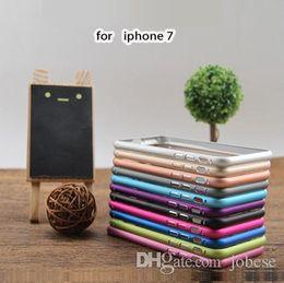 Aplicable al marco del metal de la cáscara iphone7 del teléfono Apple7 4.7 cubierta del teléfono móvil de la aleación de aluminio de la hebilla del flor del ciruelo de 5.5 pulgadas en venta