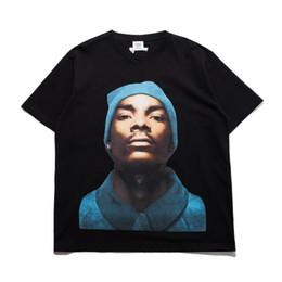 China Rap Star Printed Women Men T shirts tee Hiphop Oversized Men Cotton T shirt Tops Tee cheap white shirt stars suppliers