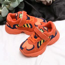 ed0b8b5f6 2018 Nuevo Naranja rojo Niños Zapatillas de Baloncesto Chica Chico Penny  Hardaway Basket Zapatillas Zapatos Zapatillas Deportivas zapatillas de  cuero ...
