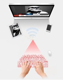 Laptop Projection NZ - New Wireless Bluetooth Mini Keyboard Laser Projection Keyboards For iPhone iPad Tablet PC Laptop Android Mobile Phone EM88