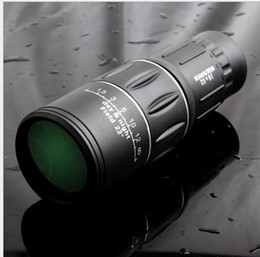 telescopes infrared NZ - Single lens telescope 16X52 dual tuning high definition non infrared low light night vision Perspective