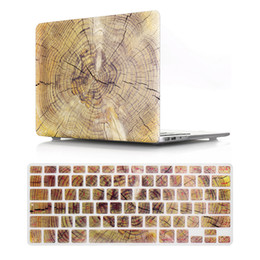 $enCountryForm.capitalKeyWord Canada - 2 in 1 wood laptop body shell protective hard case and keyboard skin for macbook hard case 13 15 17 Unique fashion