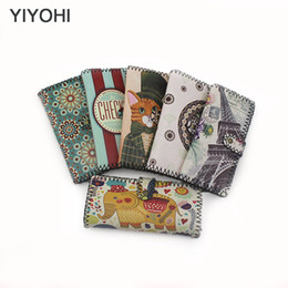 graffiti long wallets UK - New YIYOHI Hot On Sales Female Long Wallets Women Eiffel Elephant Graffiti Wallets clutch Purse carteira feminina Wallet Handbag