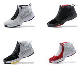 7e397086eefa ... on wholesale 50c31 3d20d Cheap Mens Jumpman 19 IXX basketball shoes 19s  Oreo Bred Black White ...