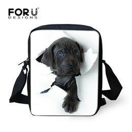 $enCountryForm.capitalKeyWord Canada - Luggage Handbags FORUDESIGNS Hot 3D Animal Women Messenger Bags Cat Dog Head Cross-body Travel Funny Bags Ladies Small Bolsa Feminina Sac
