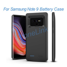 Samsung Note Battery NZ - Portable power bank case for samsung note 9 external battery charger case for samsung note 9