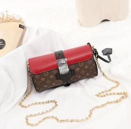 0a9a005e5c81 Canvas Leather Crossbody Bag Canada - 2018 Fashion women padlock shoulder bags  crossbody bag Genuine Leather