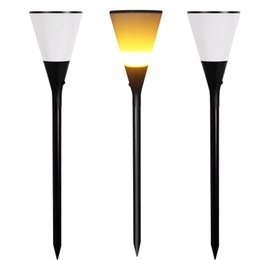 Discount beer bar lighting - Romantic atmosphere lamp Fire flickering Beer cup outdoor solar LED lights for wine bar, plaza, lawn, camp out in the wi