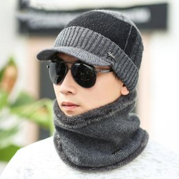 0017f50ffe1 Men Winter Hats Wool Scarf Caps Skullies Beanies Hat Winter Beanies For Men  Women Balaclava Mask Gorras Bonnet Knitted Hat