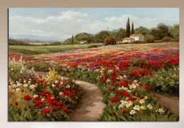 $enCountryForm.capitalKeyWord NZ - Claude Monet Poplars Poppy fields Handpainted & HD Print Impressionist Landscape Art Oil Painting On Canvas,Multi Sizes  Frame Options skeb