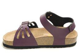 Мода Джокер документальный пряжки женская обувь кожа противоскользящая износостойкие крытый и открытый тапочки 36 - 40