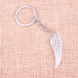 $enCountryForm.capitalKeyWord Canada - New Fashion 47*15mm angel wings KeyChain, New Fashion Handmade Metal Keychain Party Gift