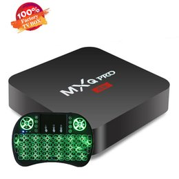 $enCountryForm.capitalKeyWord Canada - MXQ PRO TV Box Amlgoic S905W Android 7.1 TV BOX With Wireless Mouse Key Board Quad Core 4K Media Player Better TX3 X96 MINI