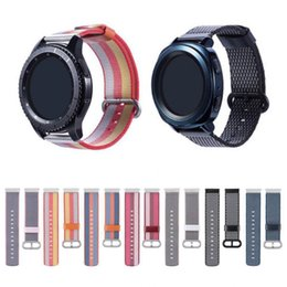 Smart watcheS pebble online shopping - Sport Nylon Band for Samsung Gear S2 sport S3 Classic Frontier strap For Pebble Time Steel huami amazfit pace bip lite