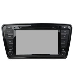 mp3 player built 4gb Canada - Car DVD player for Skoda OCTAVIA 8inch 4GB RAM 8-core Andriod 8.0 with GPS,Steering Wheel Control,Bluetooth, Radio