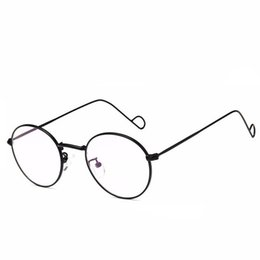 2738b232b61 Geometric Sunglasses Wholesale UK - Metal Aviation Medium Sun Glasses Frame  Men Pilot Spectacles For Prescription