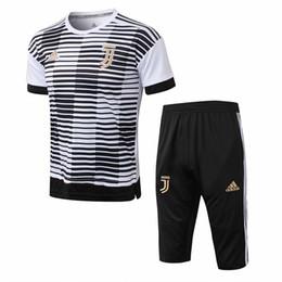2018 2019 Novo fato de treino Juventus RONALDO camisola de futebol 18 19 DALBALA bonito de treino camisola de futebol HIGUAIN T-shirt de desporto CR7